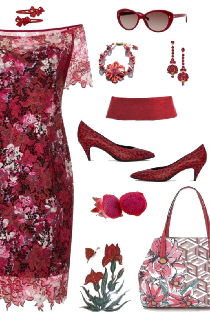 Mother's Day in Ruby Red
