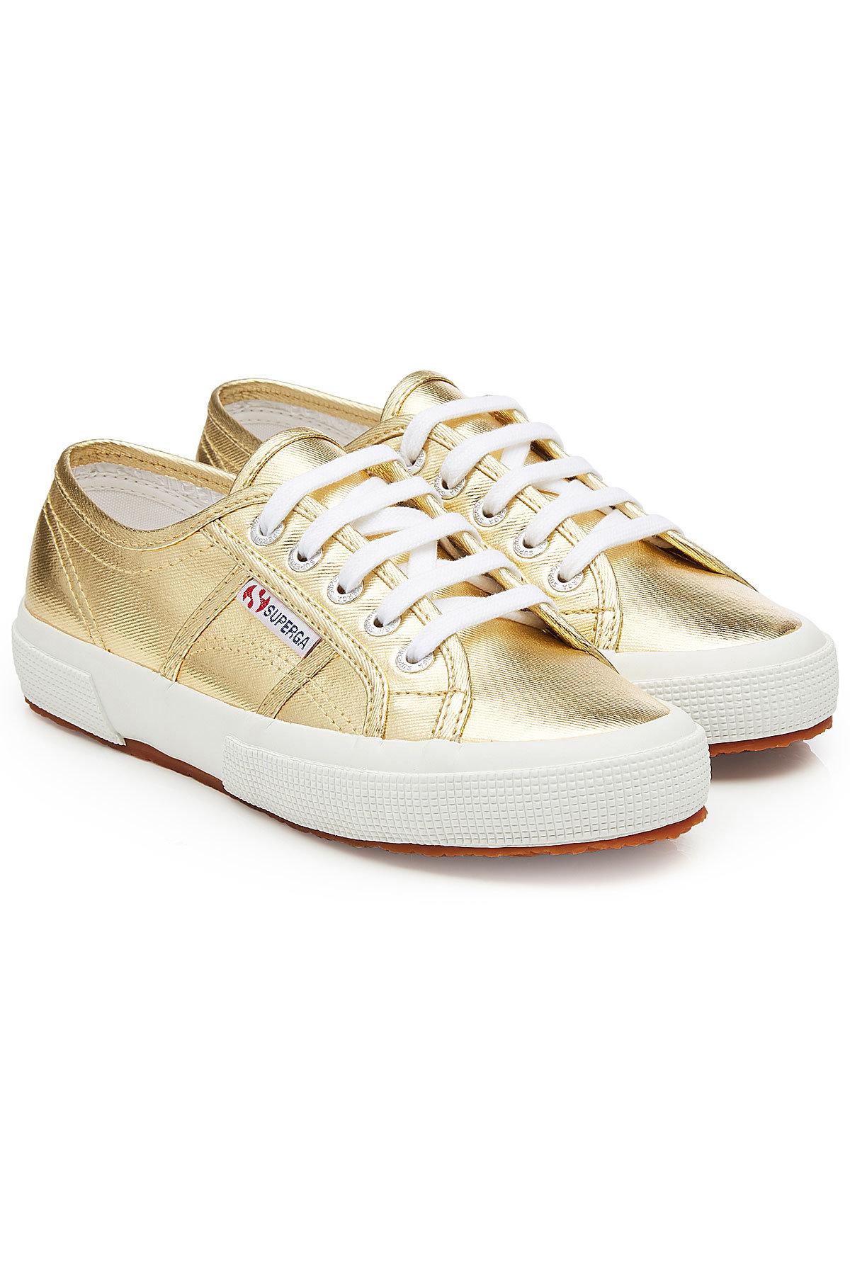 Superga 2750 Cotmetu Metallic Canvas Sneakers Gr. EU 38 wmU1vJ4AW0