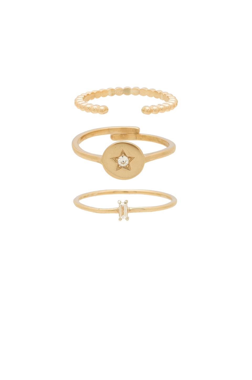Cosmos Ring Set