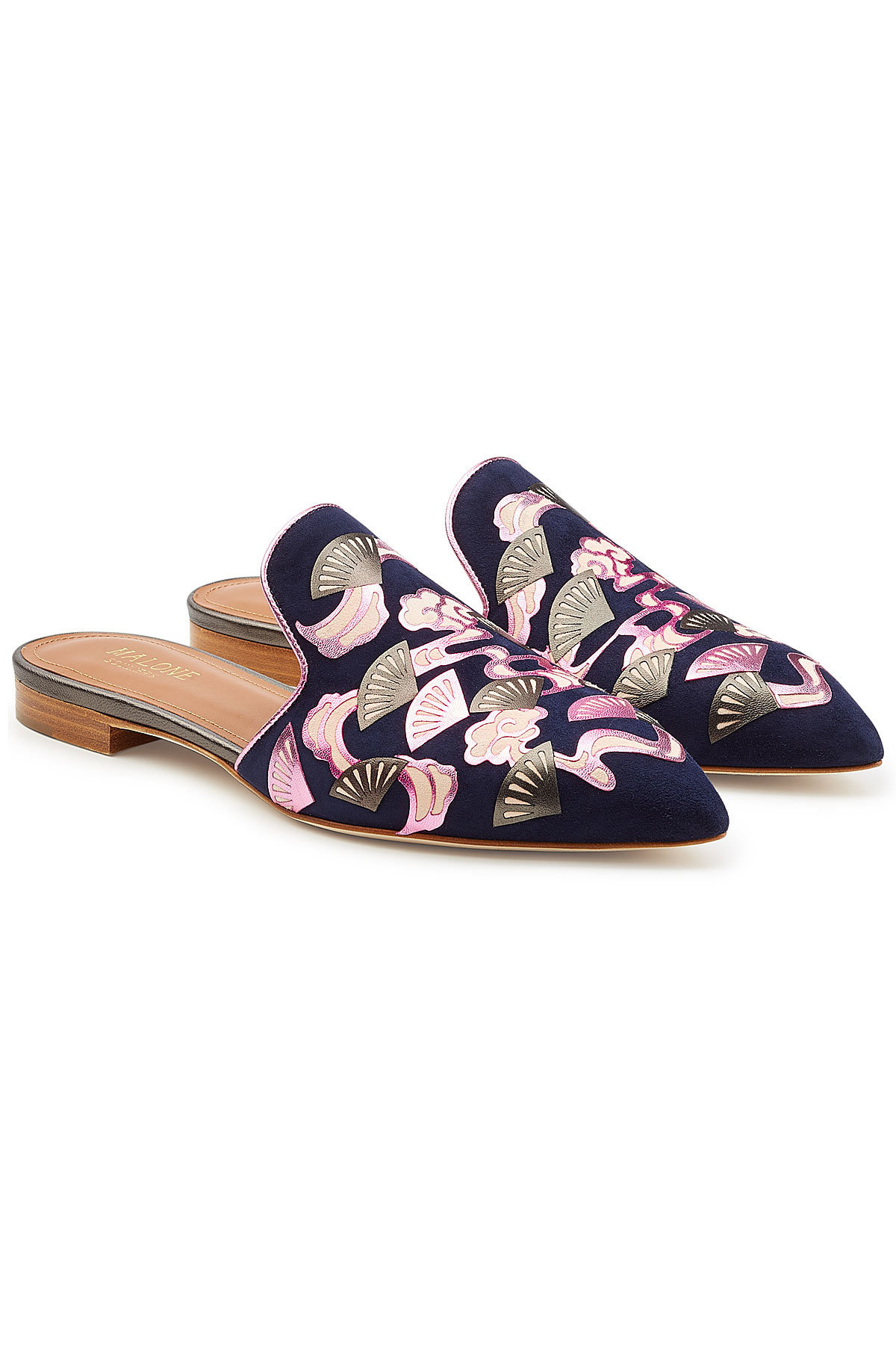 MALONE SOULIERS Vilvin Mules with Leather Gr. EU 38
