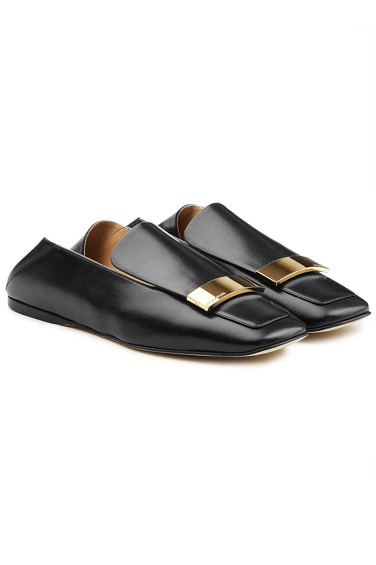 Jil Sander Leather Shoes with Triple Monk Straps Gr. IT 37 IHan1M