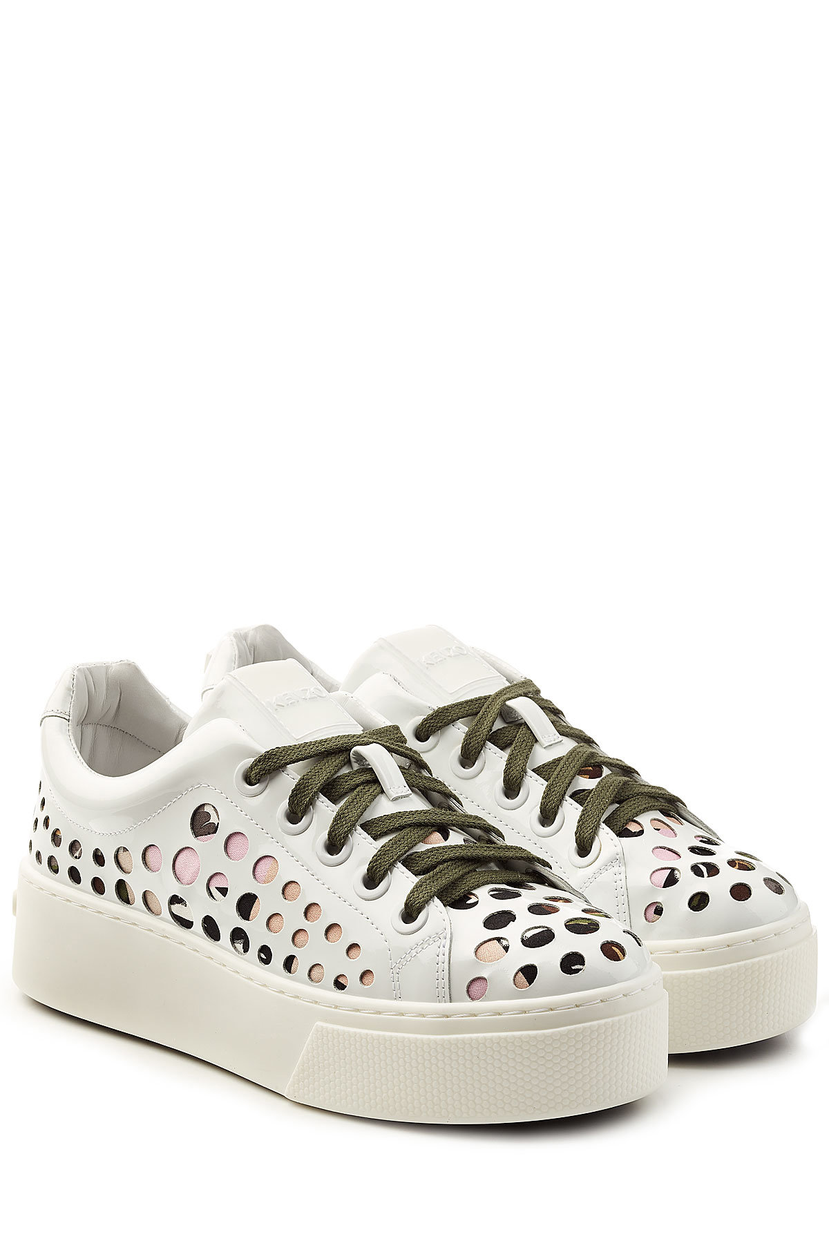 Marc Jacobs Canvas Sneakers with Patches and Embellishments Gr. IT 35 IKh0jFGb