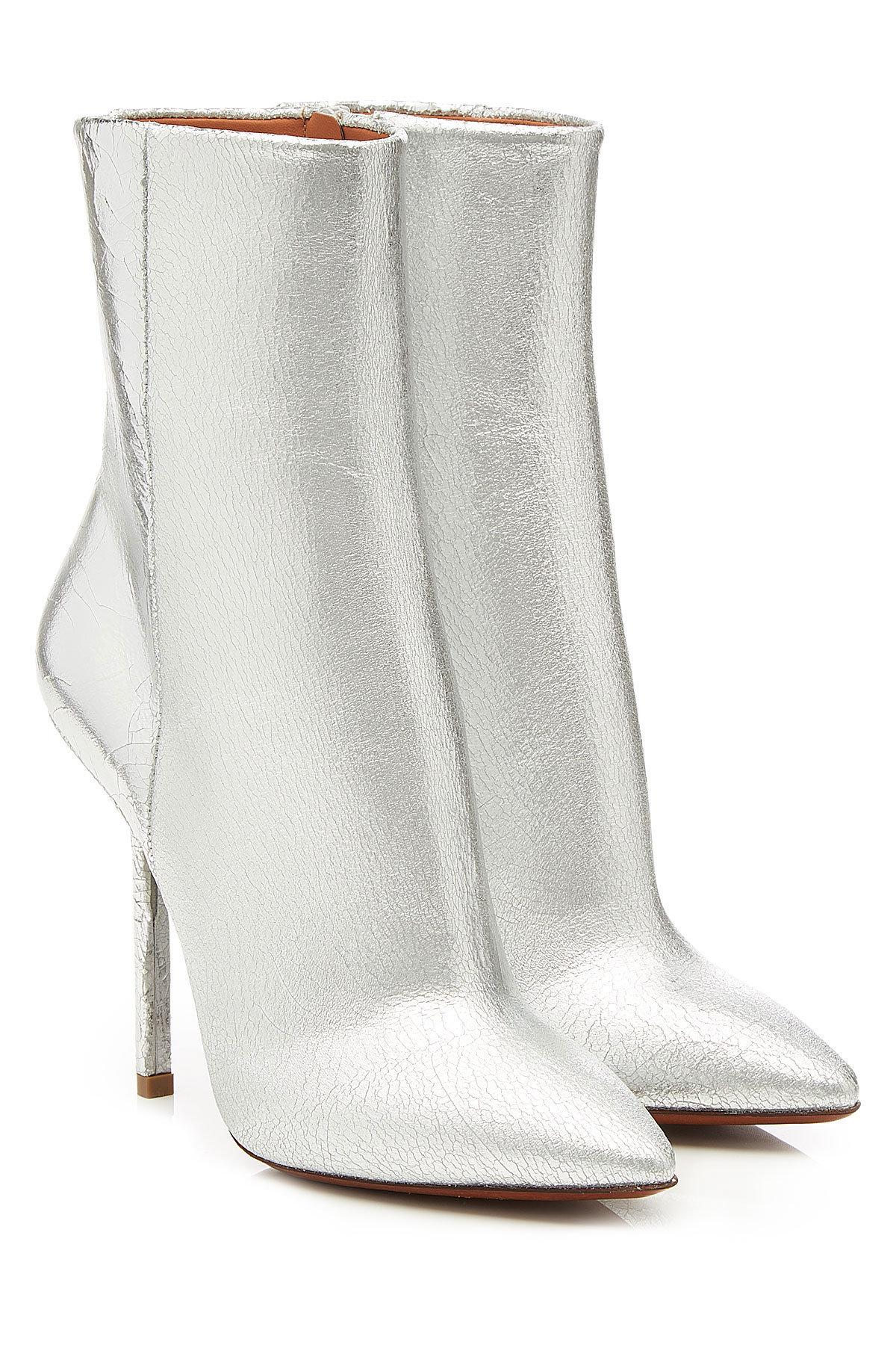 VetementsSatin Ankle Boots Gr. IT 40 2Qieu