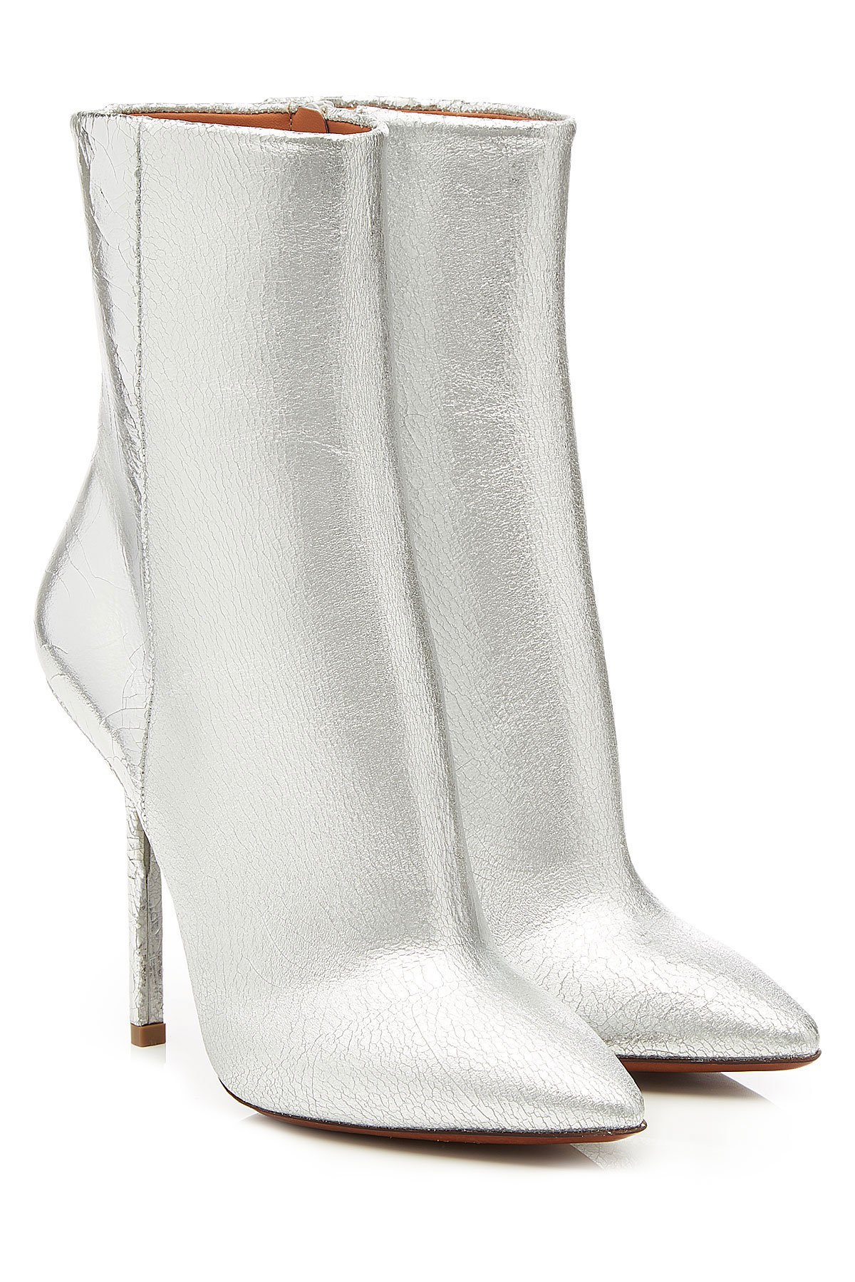 Vetements Metallic Leather Ankle Boots Gr. IT 40 fzBdxX8