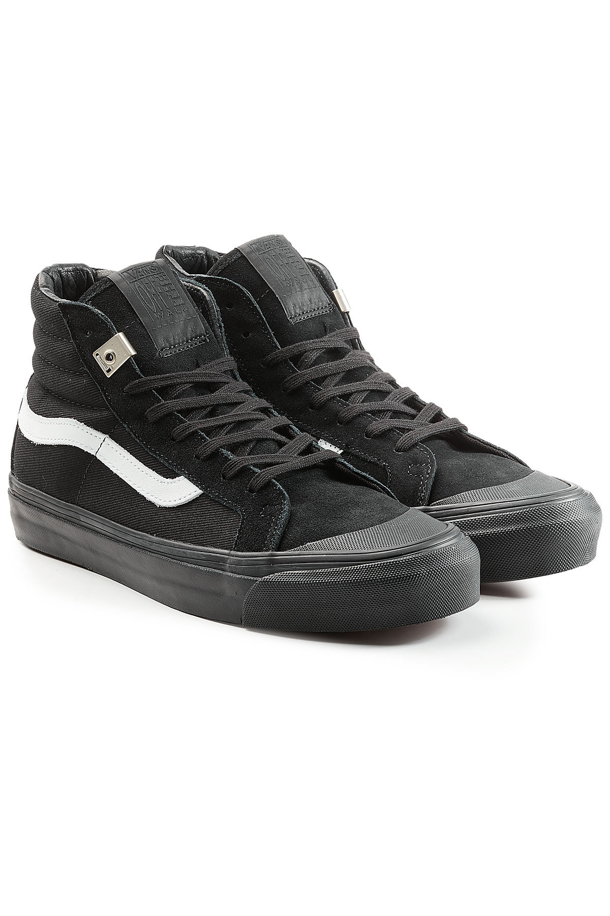 Vans OG 138 SK8 High Top Canvas Sneakers with Leather Gr. US 7.5 VZU2ozRw