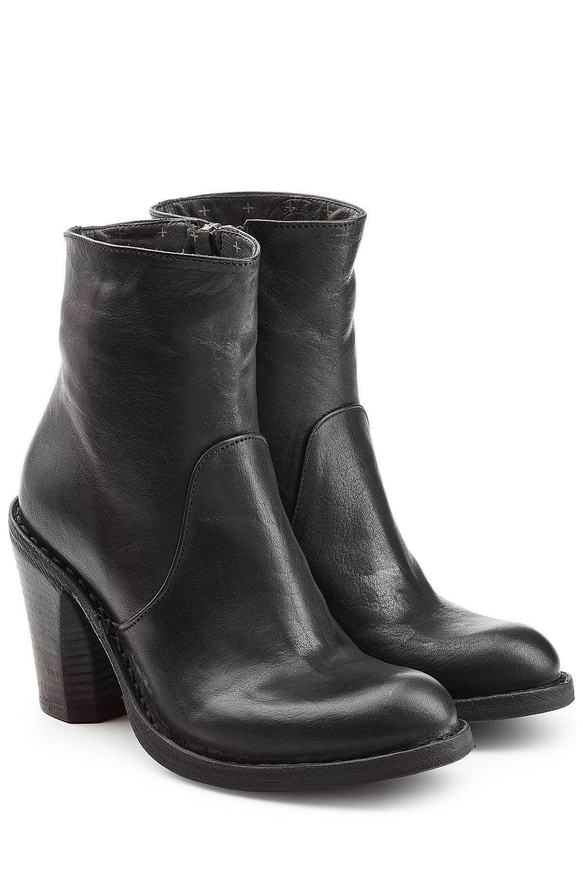 Robert Clergerie Suede Ankle Boots Gr. FR 40 XipnxXcoq