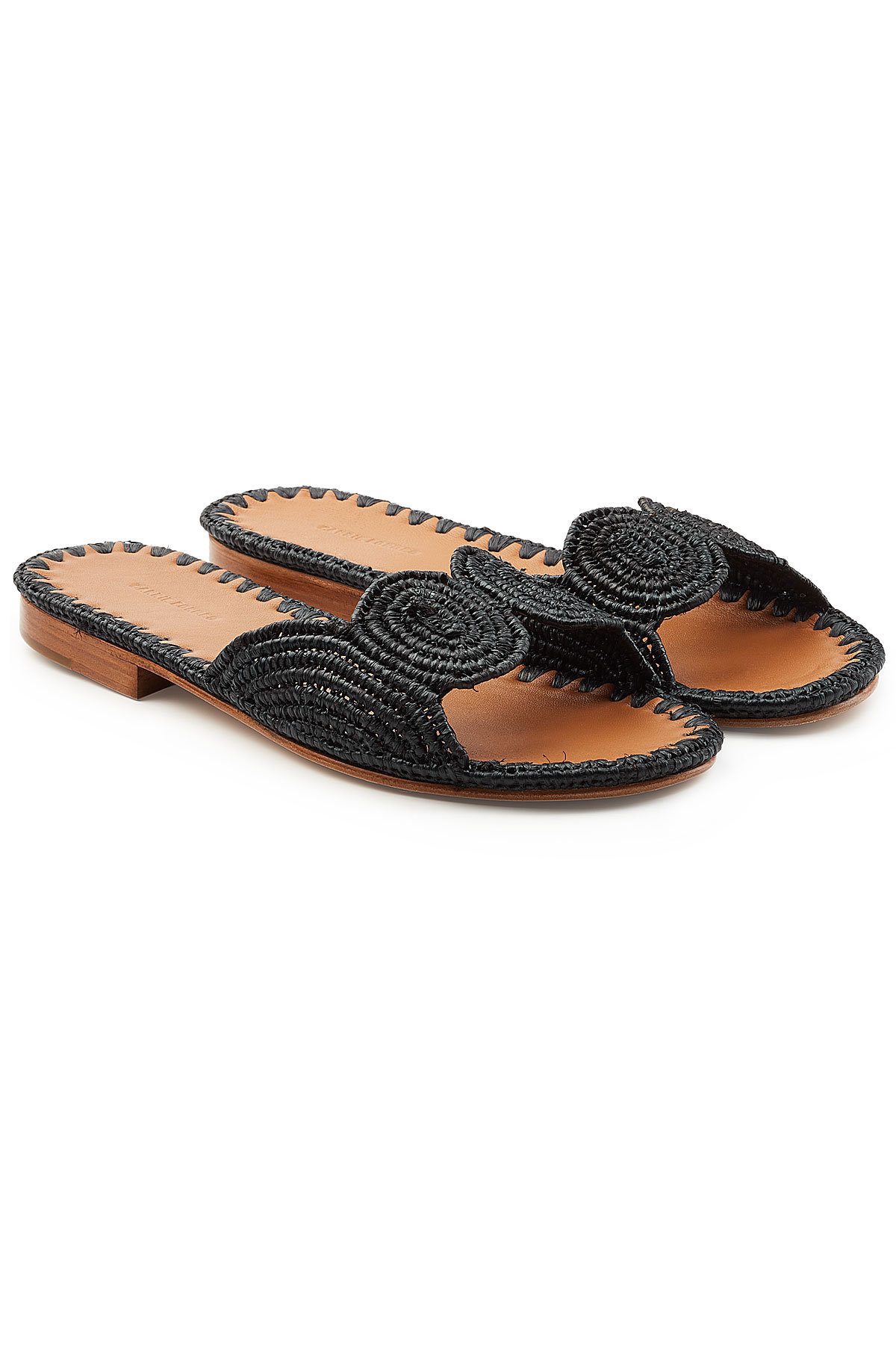 Carrie Forbes Salon Sandals with Raffia Gr. IT 40