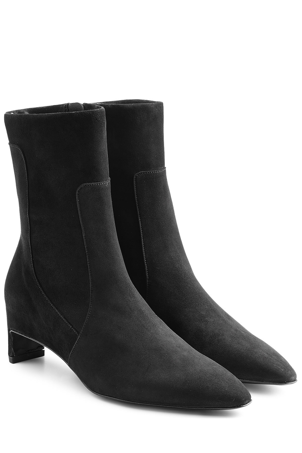 Robert Clergerie Suede Ankle Boots Gr. FR 40