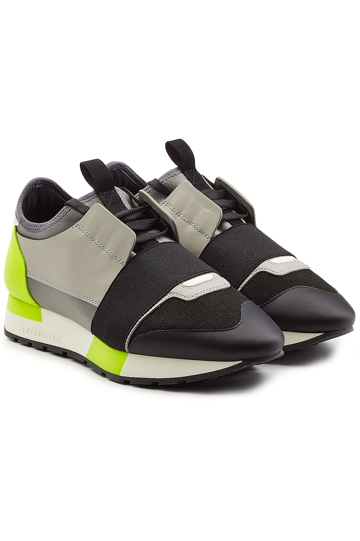 Balenciaga Race Runner Sneakers with Leather and Mesh Gr. IT 40 Kr17HMzI