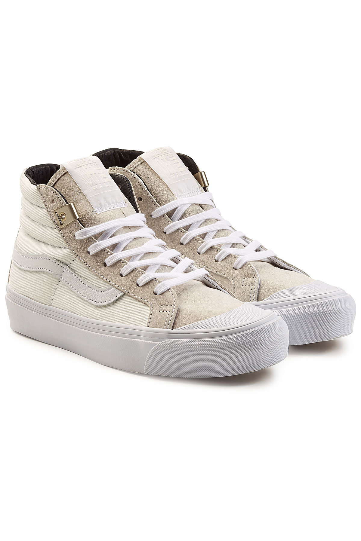 Vans OG 138 SK8 High Top Canvas Sneakers with Leather Gr. US 7.5 5ggbQM
