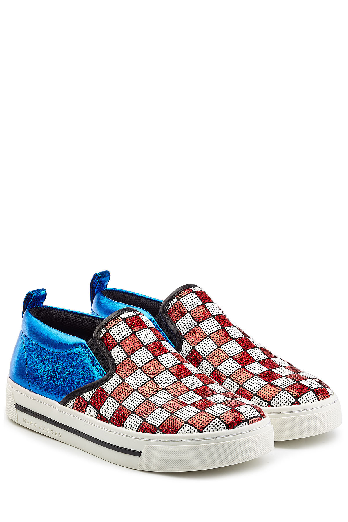 Marc Jacobs Leather Slip-On Sneakers with Sequins Gr. IT 38 lcwWcqyY