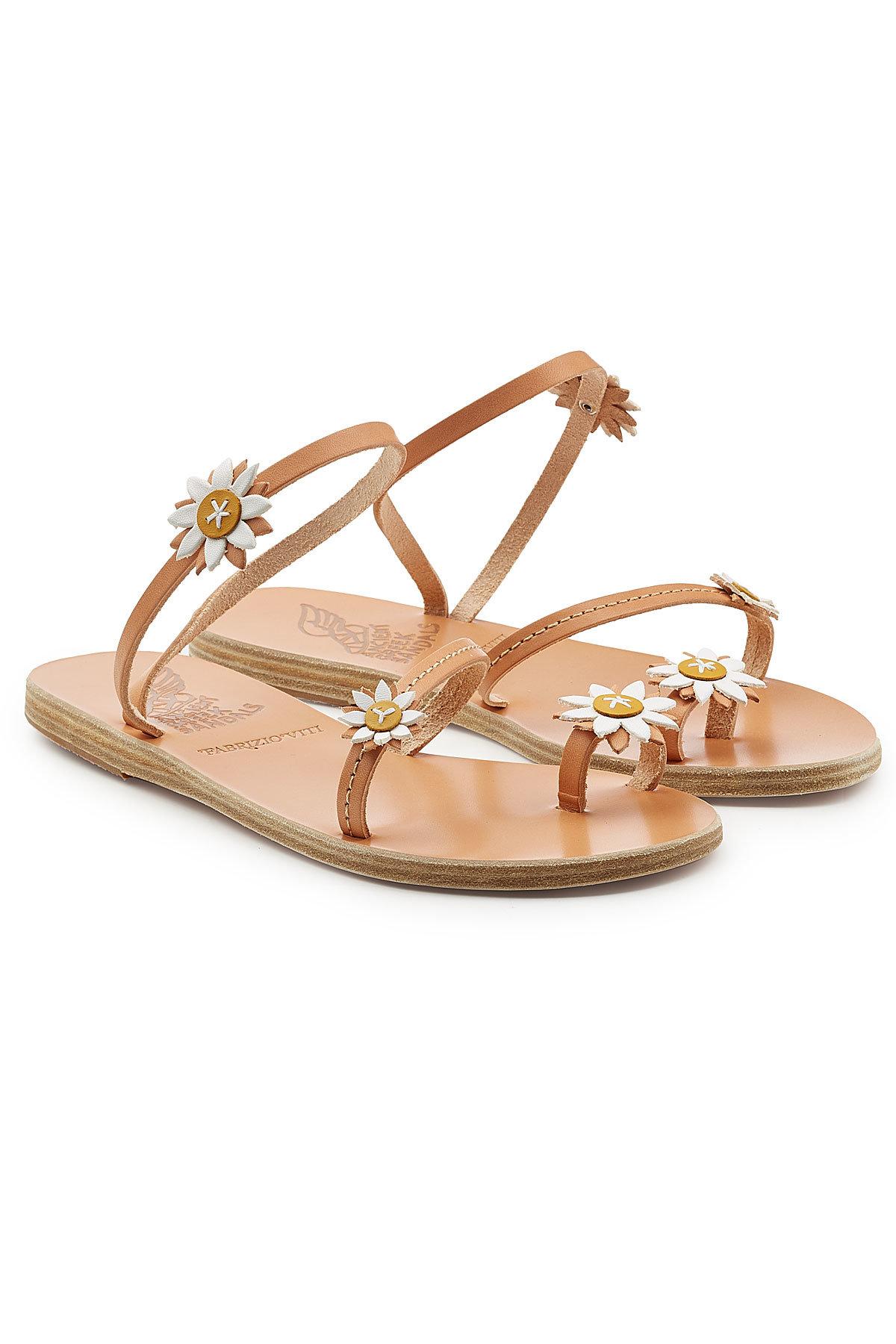 Ancient Greek Sandals Sheila Leather Sandals Gr. IT 38 QX68I14Mq