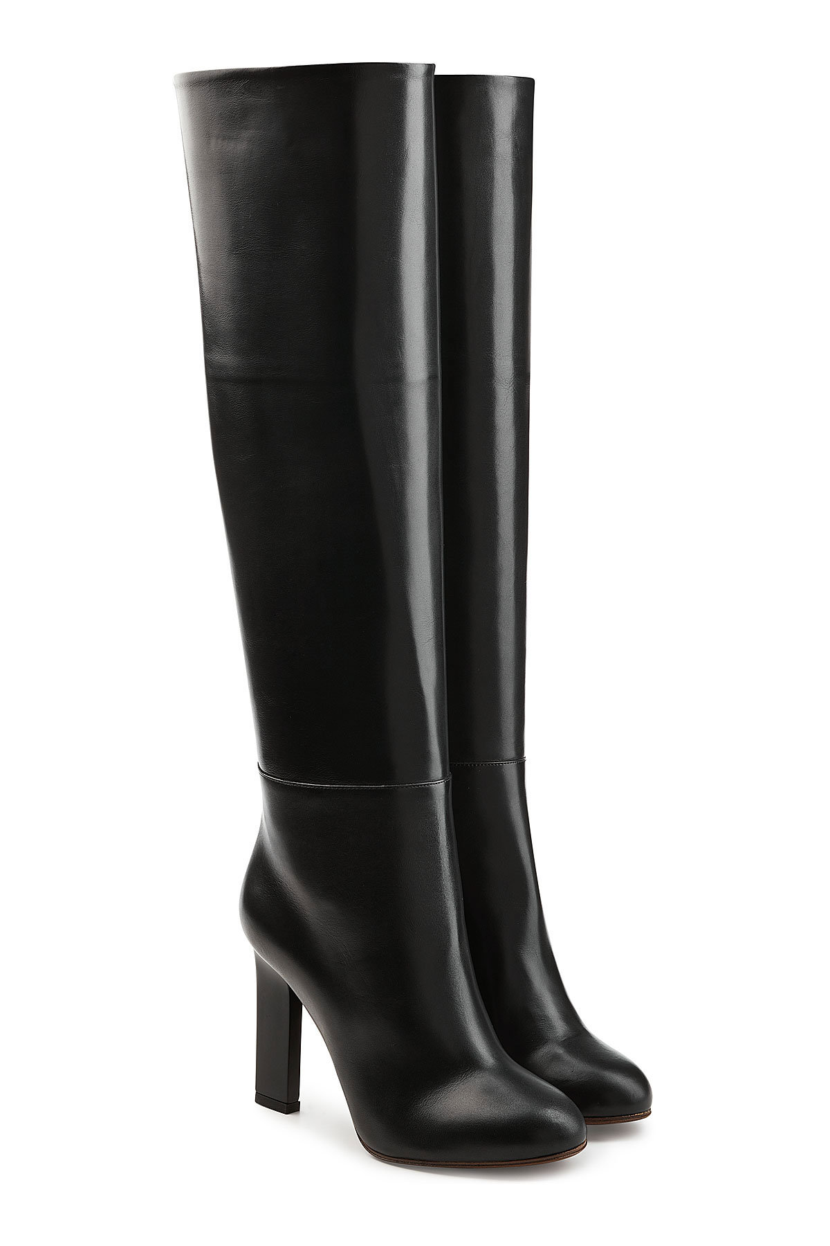 Marni Leather Knee Boots Gr. EU 36 8cz1b