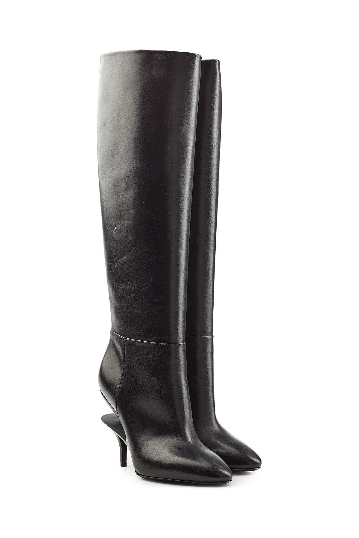 Maison Margiela Suede Knee Boots with Buttons Gr. EU 38.5 7Yhu1F