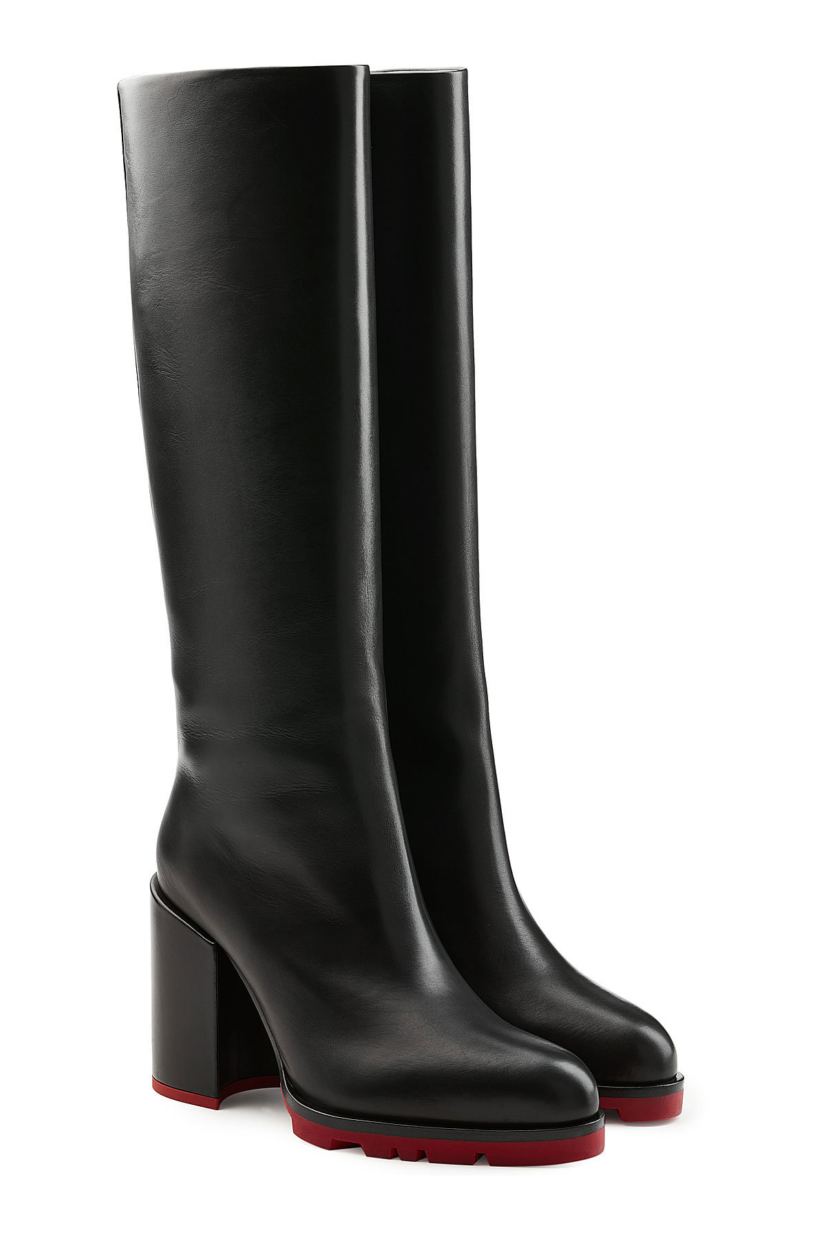 Jil Sander Leather Knee Boots Gr. IT 37 xBWve