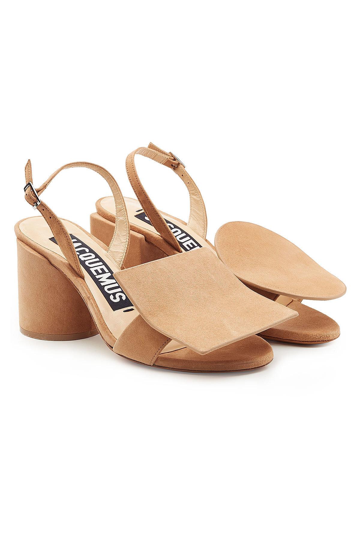 Salvatore Ferragamo Elba Suede Sandals Gr. US 6.5